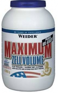 Maximum Zell Volume