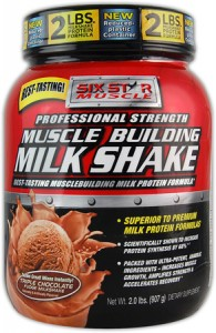 Muscle Building Milk Shake